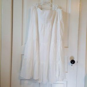Champs white skirt